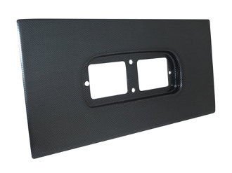 Racepak UDX Mounting Panel (Black)